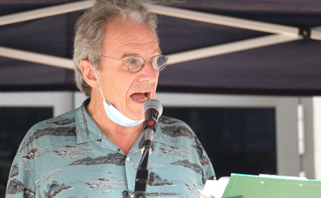 Hans-Jürgen Lenhart über die Axt des Ex.